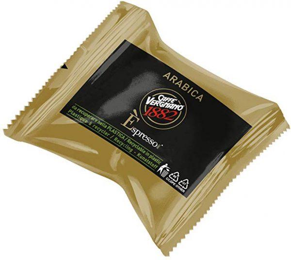 Caffè espresso Vergnano 1882 Arabica Capsula nespresso confezionata singolarmente