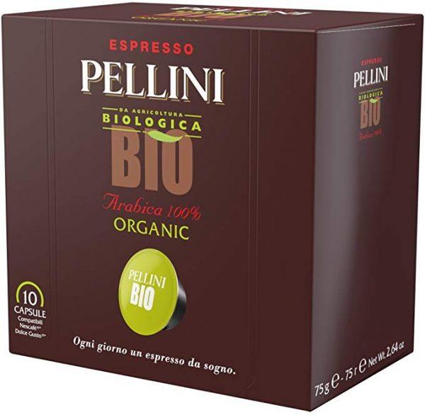 caffè Pellini bio arabica 60 capsule compatibili dolce gusto