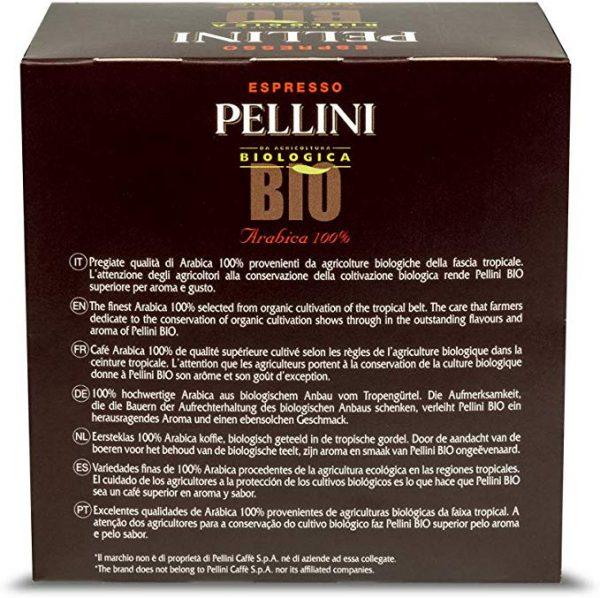 caffè Pellini bio arabica 60 capsule compatibili dolce gusto confezione