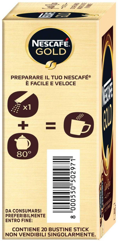 caffè solubile nescafé gold preparazione