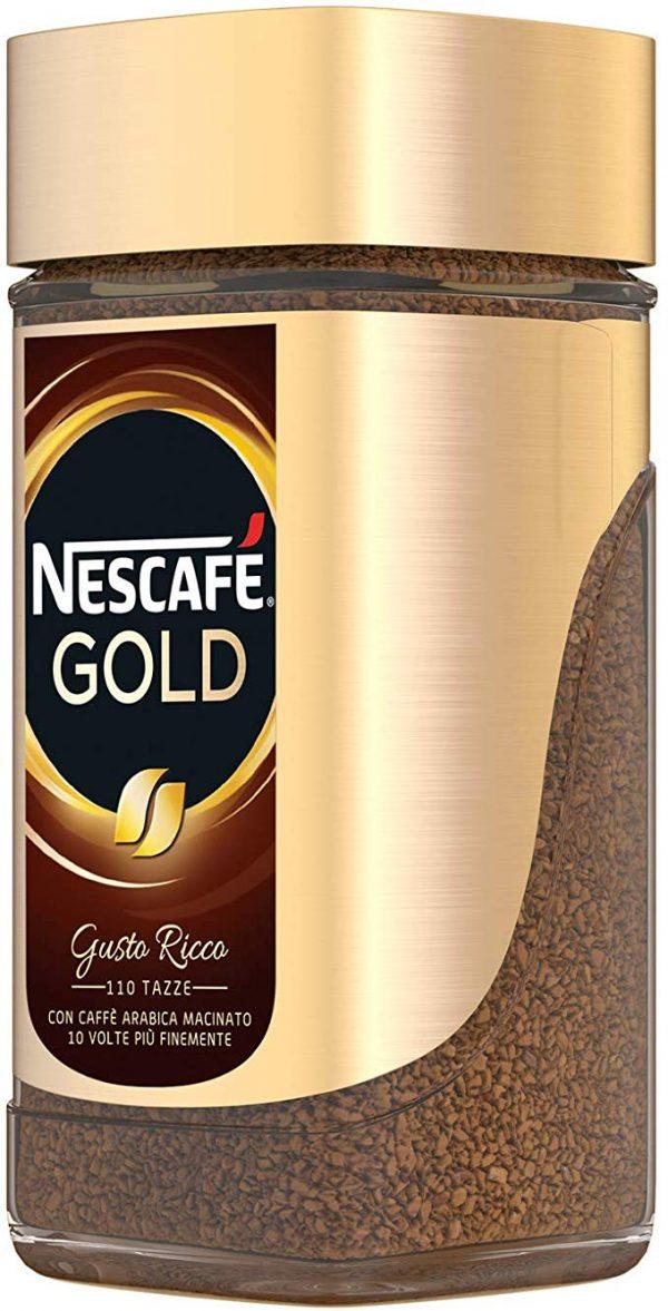nescafè gold caffè istantaneo barattolo da 200gr