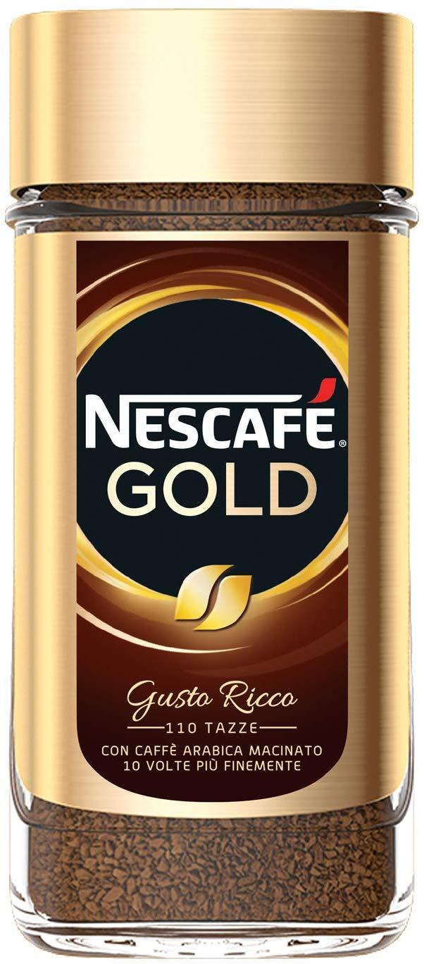 nescafè gold caffè solubile barattolo da 200gr