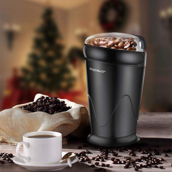 aigostar breath 30cfr macinacaffe elettrica nero