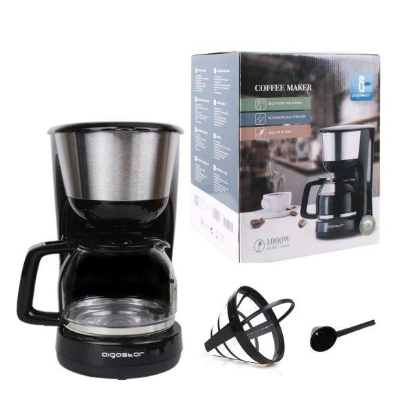 aigostar chocolate macchina caffe americano filtro riutilizzabile