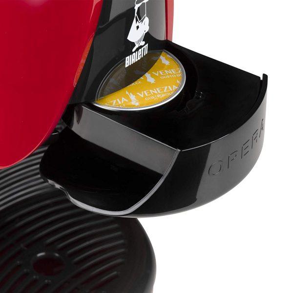 bialetti opera macchina caffe espresso capsule cassetto