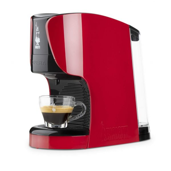 bialetti opera macchina caffe espresso capsule rossa