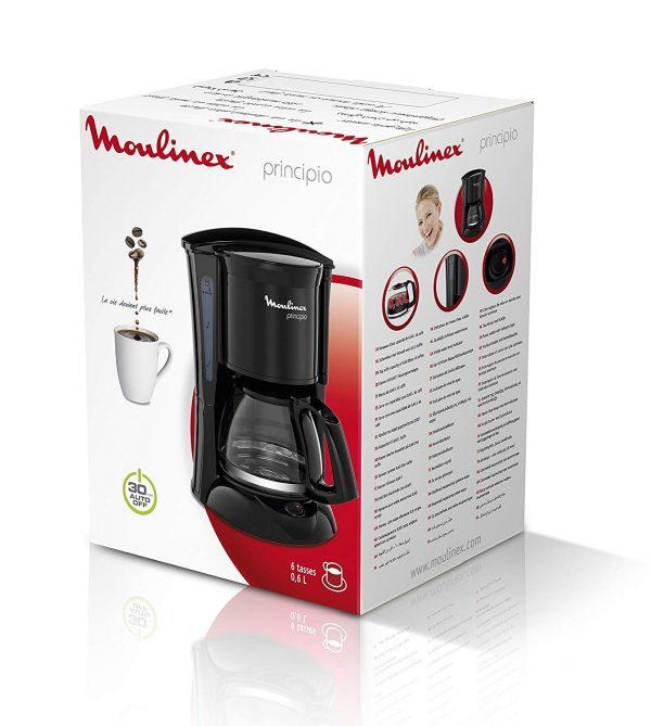moulinex fg1528 principio caffettiera americana confezione