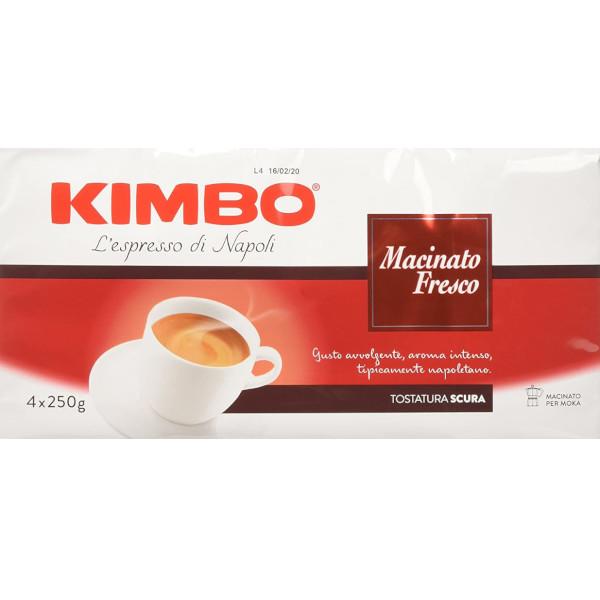 kimbo caffe macinato fresco