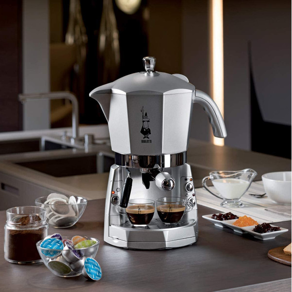 bialetti macchina espresso cialde caffe macinato