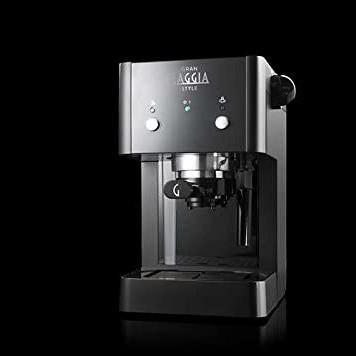grangaggia macchina caffe macinato cialde nero